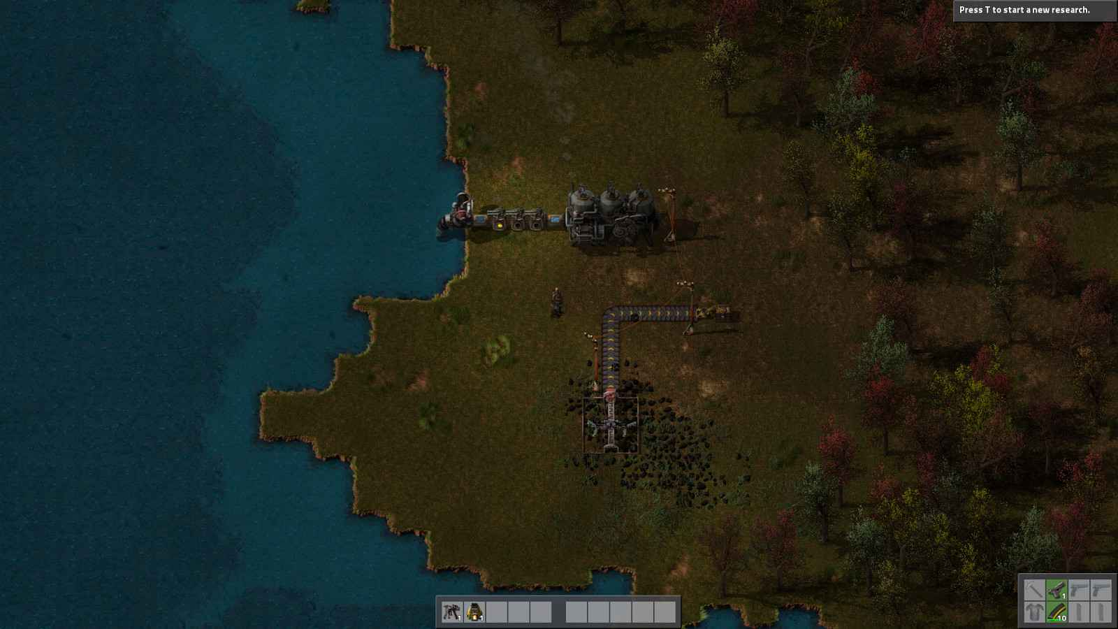 Factorio Early Game