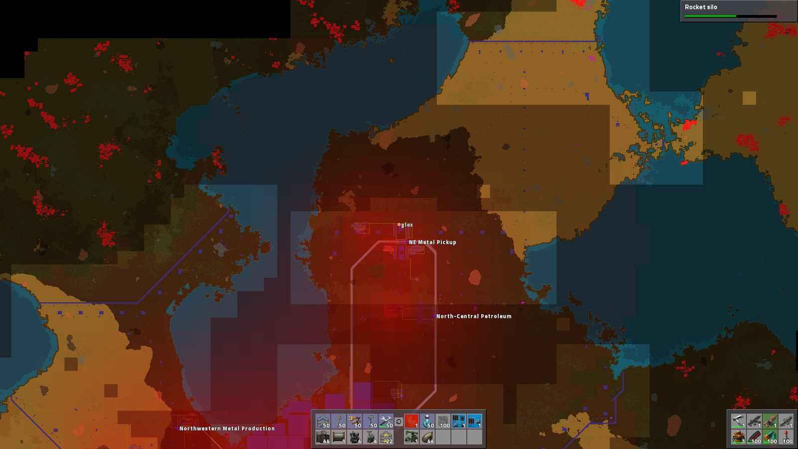 Factorio Map