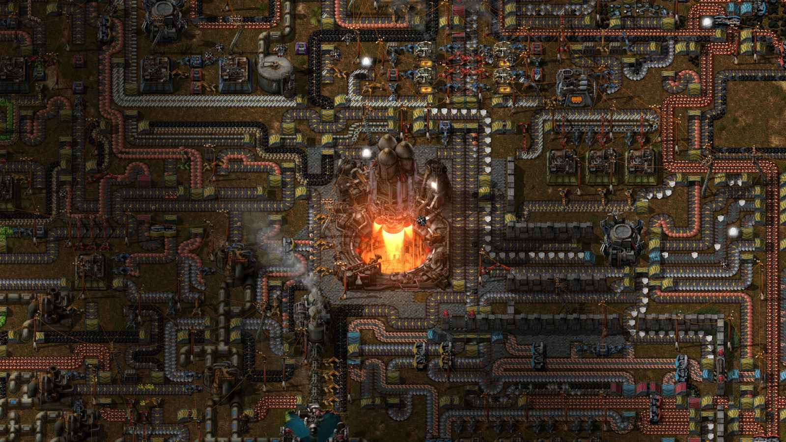 Factorio Raketen Start