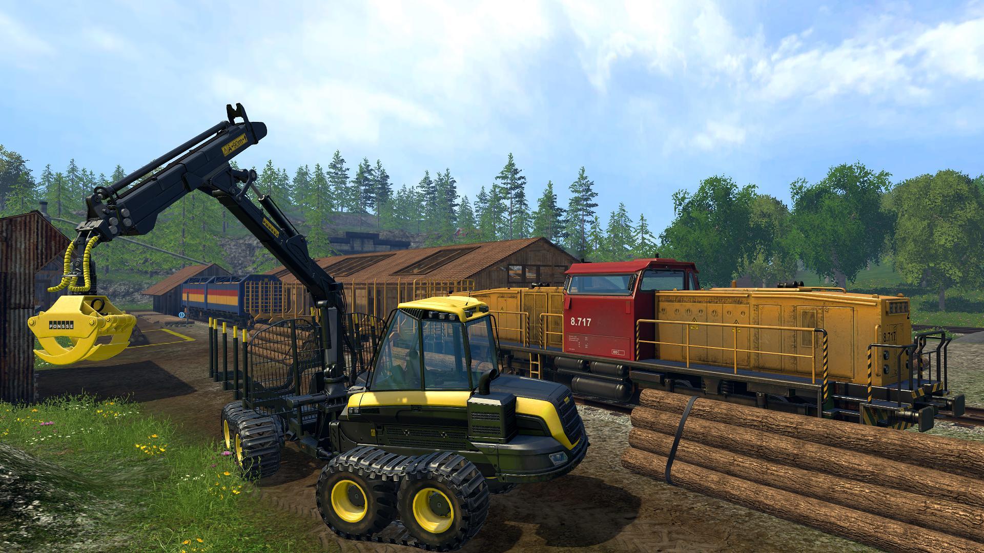 landwirtschafts simulation 2015 traktor bahn gameserver