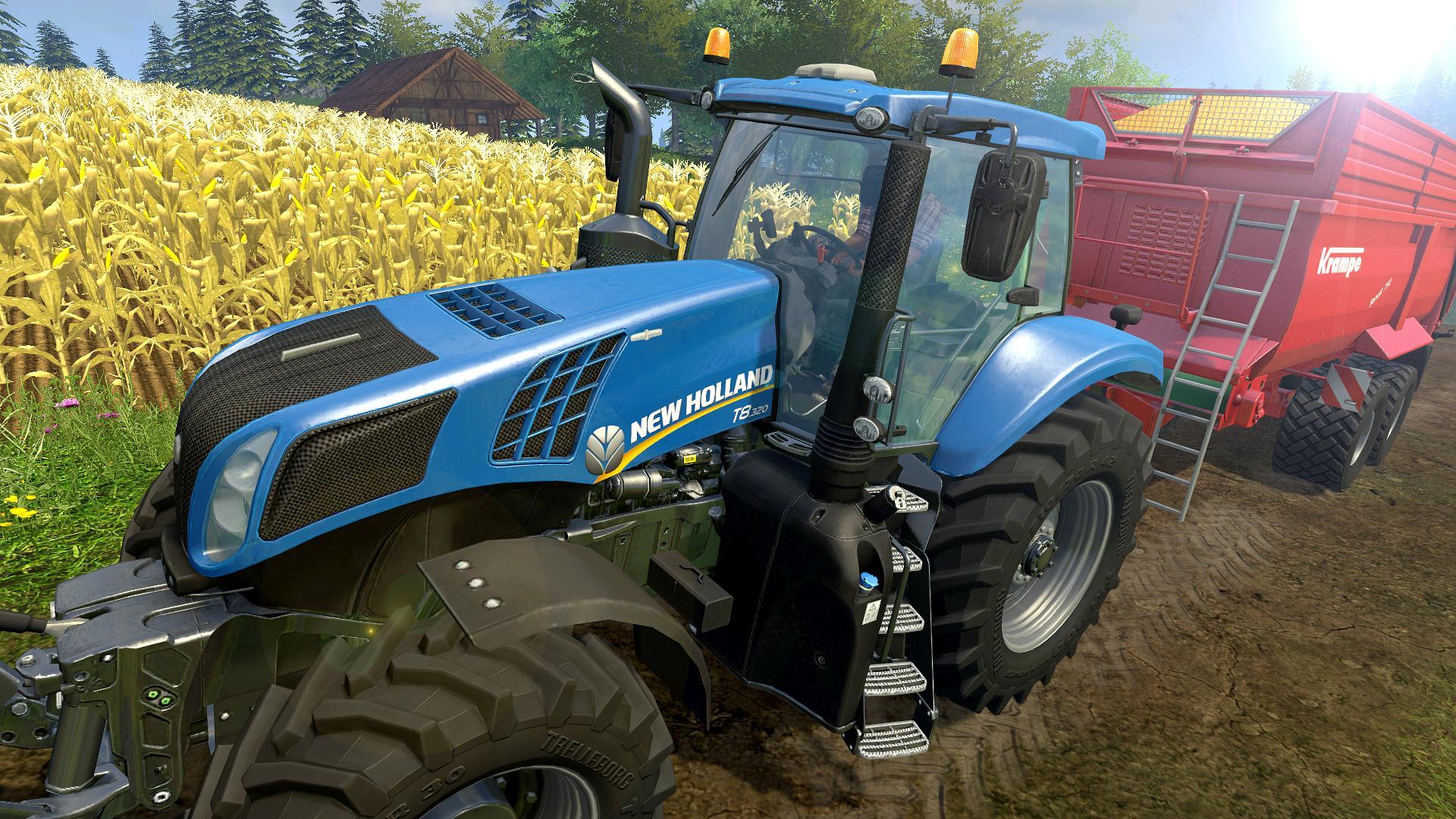 landwirtschafts-simulator 15 trecker