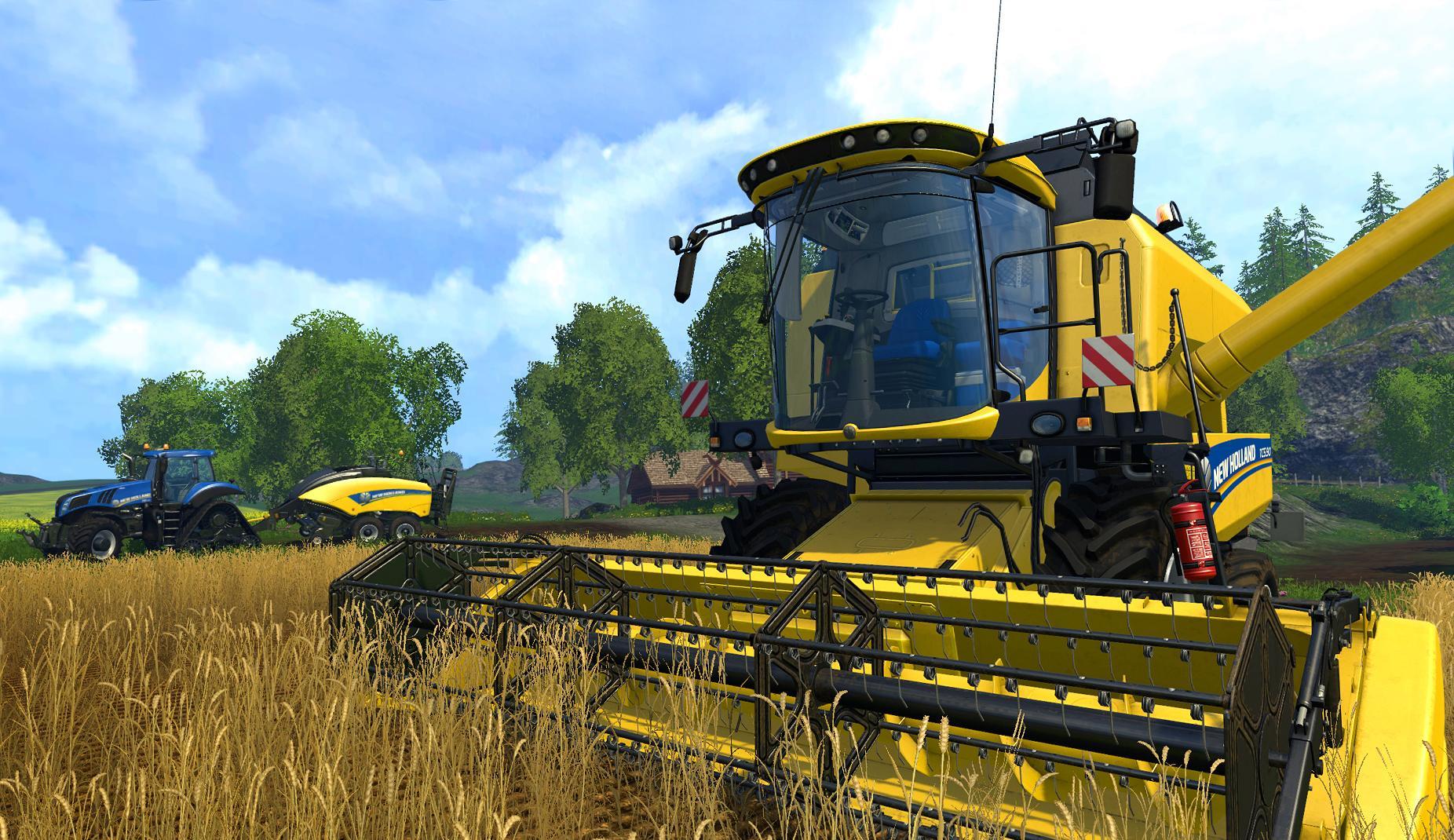 landwirtschaftssimulator 2015 m&auuml;hdrescher
