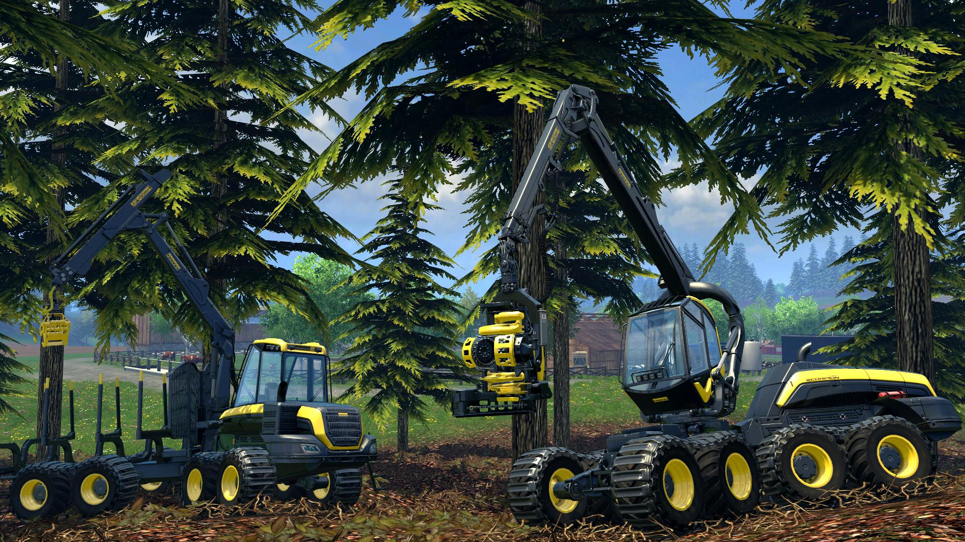 Landwirtschaftssimulator Server mieten